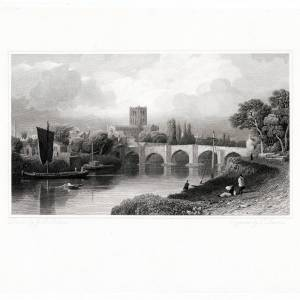 River Wye, Old Bridge & Cathedral