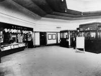 The foyer area at Morden Underground Station.