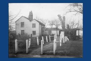Phipps Bridge, Mitcham: White Cottage