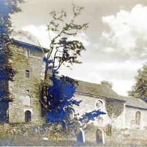 Acton Beauchamp, St Giles' Church, 1899