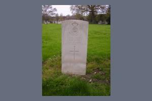 Gravestone of Arthur R E Jones