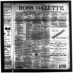 Ross Gazette 1917