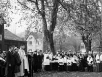 Armistice Day Service, Cricket Green
