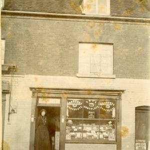 Lucy Mary Charles, 7 Commercial Road, Hereford, c1902
