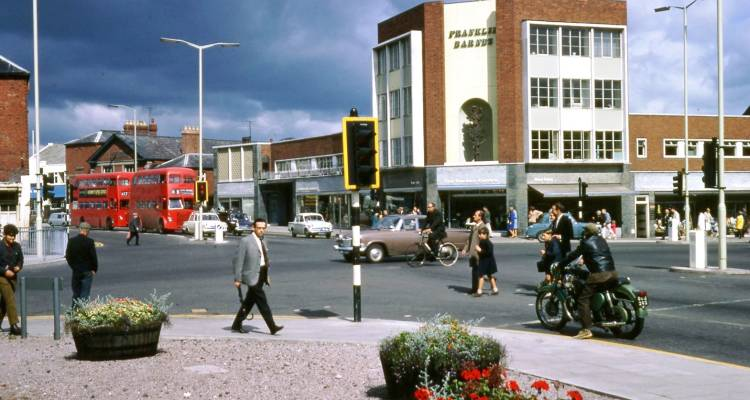 Hereford Commercial Square, 1969