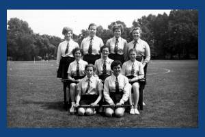 Wimbledon County School for Girls: Rounders Team