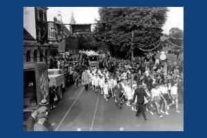 Charter Day procession, Mitcham