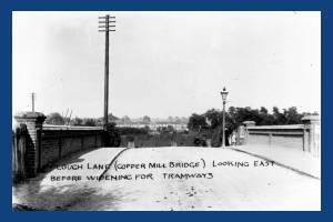 Plough Lane, Wimbledon: Copper Hill Bridge