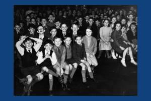 A children's party at Hillcross School , Morden