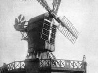 Wimbledon windmill featured on a Christmas card