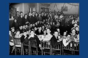 A children's party, Hillcross School, Morden