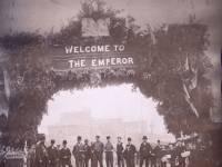 Arch commemorating visit of German Emperor Wilhelm II