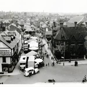 May Fair, King Street, Hereford, 1959