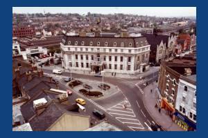 Wimbledon Town Hall, Broadway, Wimbledon:  Aerial View