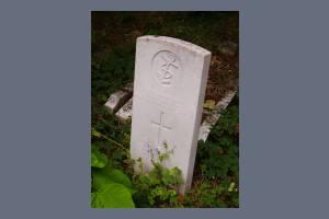Gravestone of Samuel A King