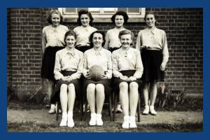 Wimbledon County School for Girls: Netball Team