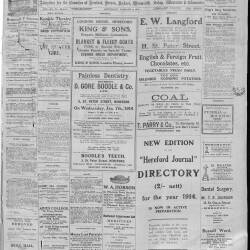 Hereford Journal 1914 - 1919