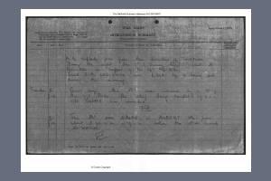 War Diary - Royal East Kent Regiment 2