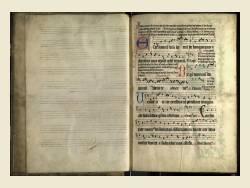 Music manuscript c1500