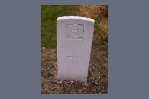 Gravestone of George J Howe