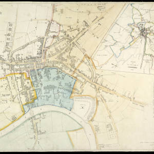 John Wood's Map of Hereford 1836.jpg