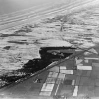 Aerial View Ainsdale Coast