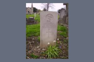 Gravestone of Oscar B Langford