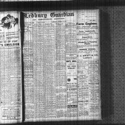 Ledbury Guardian 1917