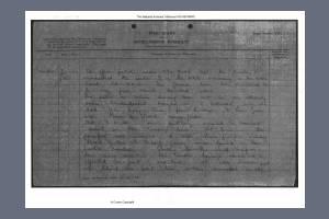 War Diary - East Kent Regiment (Buffs) I
