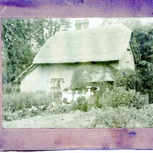 Aylestone Hill, Mr D Cox's Cottage, 1903