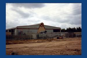 A. & J. Bull Skip Haulage: Depot off Benedict Road, Mitcham