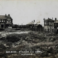 Ainsdale station and hotel