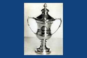 Cup for  best  allotment holder, Morden