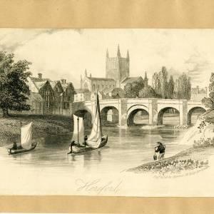 Old Wye Bridge, Hereford