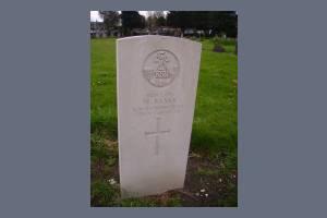 Gravestone of William Banks