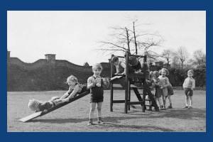 Children from Manor House Nursery School