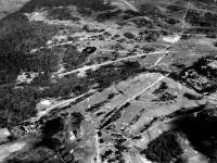 Aerial view of Caesar's Camp, Wimbledon Common