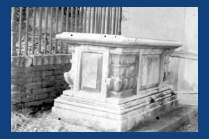 Tomb of Ann Hallam, 1880