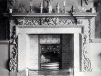 Eagle House, Wimbledon: Hall chimney place