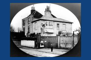 Berkeley Cottage and Berkeley House, Mitcham