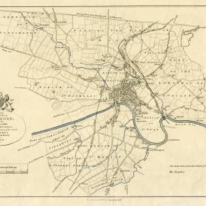 A plan of the city of Hereford 1857
