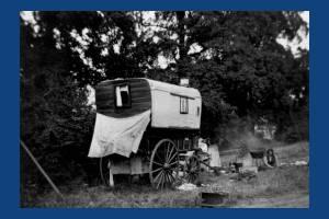 Morden Common: Gypsies