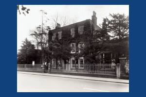 Kingston Road,  Dorset Hall, Merton Park