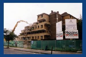 Demolition Day, Pollards Hill Housing Association, Pollards Hill