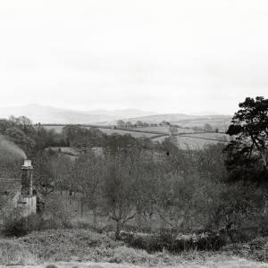 Bromyard downs, looking towards Malvern