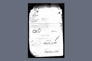 Enlistment record (2) - Albert Richard Ashley