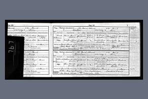 Marriage Certificate - Charles Holland