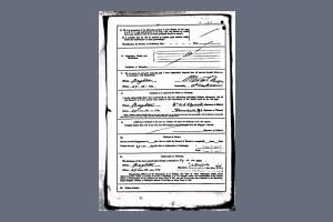 Service Record - Alfred Charles Elgood