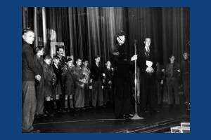 Morden Odeon: Presentation of Road Safety Certificates