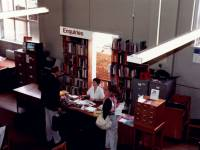Reference section, Wimbledon Library